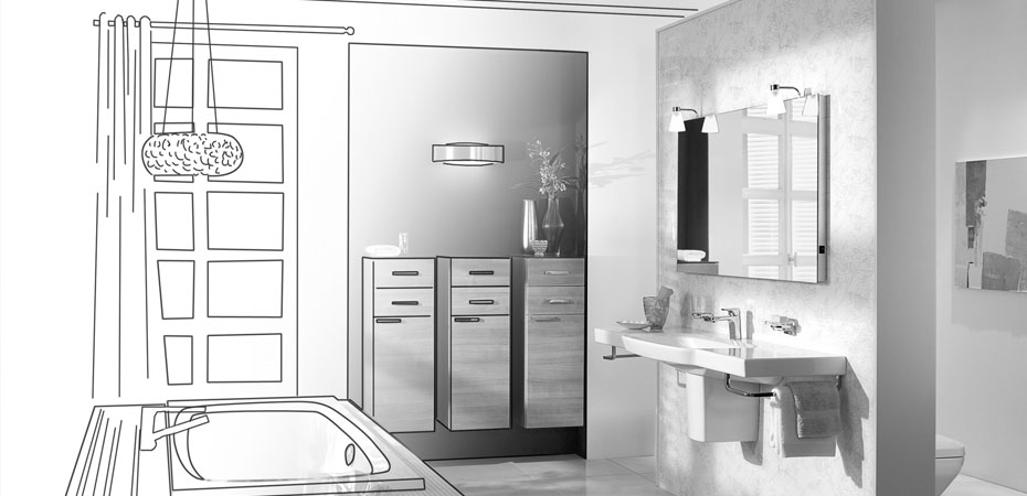 ihr neues bad steup. Black Bedroom Furniture Sets. Home Design Ideas